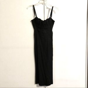 D&G Black Bustier Cocktail Dress